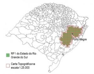 mapeamento do estado do rs 300x236 Exército e Governo do RS iniciam mapeamento topográfico do Estado