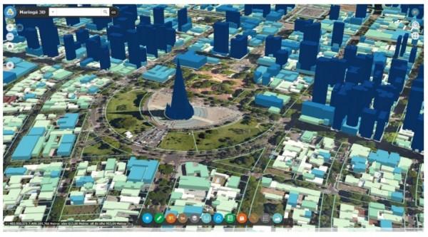 maringa 3d 600x333 Artigo: Painéis situacionais geográficos como ferramentas para planejamento e gestão