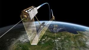 satelites tandem em formacao 300x168 Disponível gratuitamente mapa 3D global para uso científico