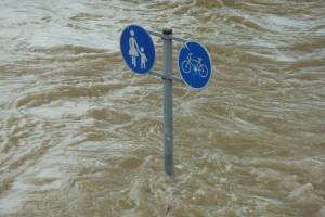 area com risco de inundacao 300x200 Serviço Geológico identifica áreas suscetíveis a riscos de desastres naturais
