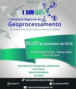 primeiro sirgeo dezembro em teresina 258x300 Simpósio Regional de Geoprocessamento acontece em Teresina