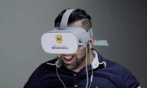 treinamento de motorista com oculos de realidade virtual 300x180 99 usa realidade virtual para treinamentos de segurança