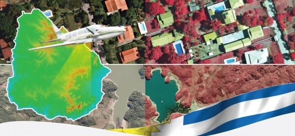 aerolevantamento uruguai 600x277 Empresa brasileira exporta Cartografia para o Mundo
