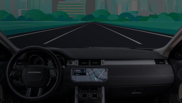navegacao autonoma em carro HERE anuncia lançamento do HERE Navigation On Demand
