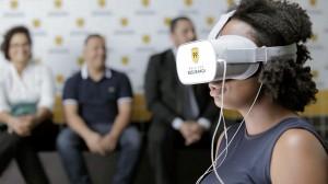treinamento usando realidade virtual 300x168 99 usa inteligência artificial para melhorar segurança de motoristas e passageiros