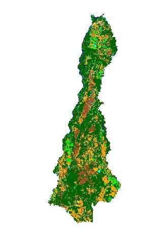 Figura 5 – Imagem classificada do município de Aruanã Artigo: Análise Temporal das Áreas Úmidas no Município de Aruanã