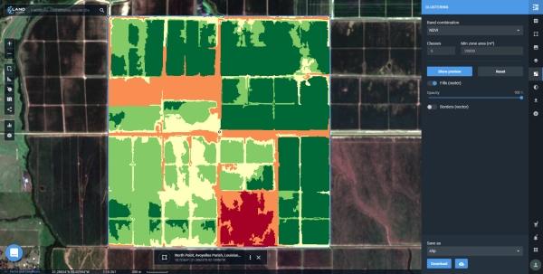 clusters LandViewer presenta nuevas funciones