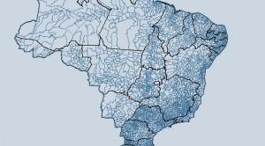Malha Municipal Digital do Brasil de 2018 300x166 Novos mapas do IBGE alteram limites e áreas de estados e municípios