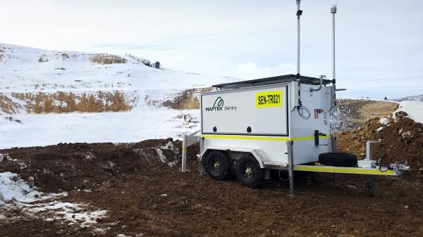 Maptek Sentry Cold Climate 600x337 Monitoreo seguro y continuo con la nueva actualización de Maptek Sentry
