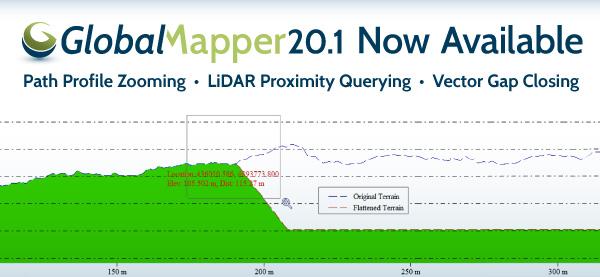 global mapper 20 1 eblast Lançamento: já está disponível o Global Mapper v20.1