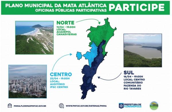 Florianópolis elabora plano de conservação e recuperação da Mata Atlântica 600x390 Florianópolis elabora plano de conservação e recuperação da Mata Atlântica
