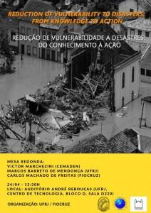 REDUÇÃO DE DESASTRES É TEMA DE MESA REDONDA NA UFRJ 212x300 Criada rede de educação e redução de riscos de desastres