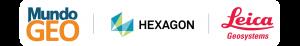 logos mundogeo hexagon leica 300x46 Webinar: Conecte projeto e execução com a Captura da Realidade 3D