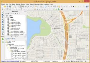 producao de mapas e geoprocessamento com o qgis1 300x211 Palestra online: Por dentro do mapeamento temático com QGIS