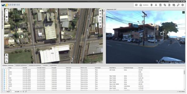 tela do geowise 600x302 Palestra online: Solução para gestão territorial integrada